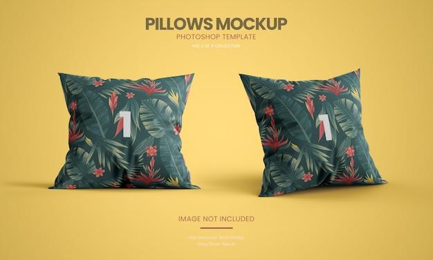 Набор макетов для подушки Premium Psd