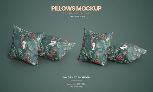 Набор макетов для подушек Premium Psd