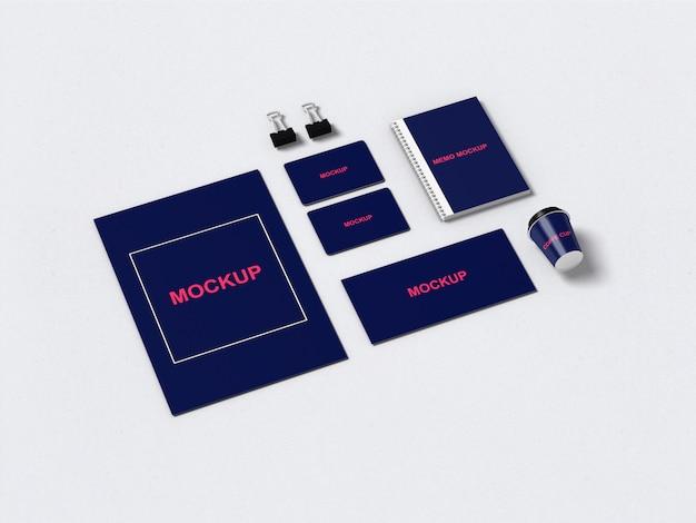 Стационарный / брендовый макет Premium Psd