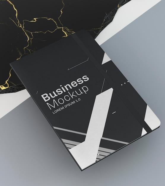 문구 비즈니스 문서 모형 높은보기 무료 PSD 파일