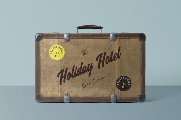 Suitcase mockup Premium Psd