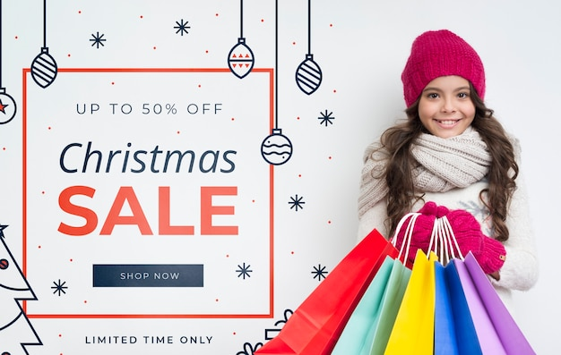 Surprising offer for sales on winter Free Psd