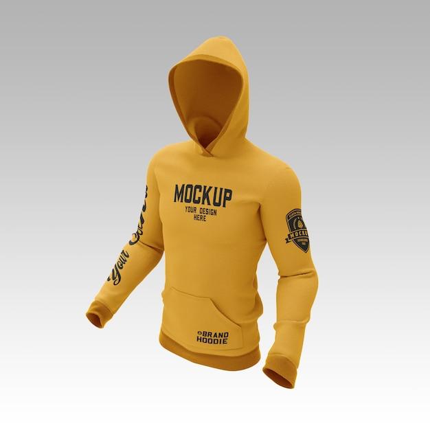 Sweatshirt hoodie mockup Premium Psd