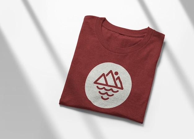 고립 된 T- 셔츠 모형 디자인 프리미엄 PSD 파일