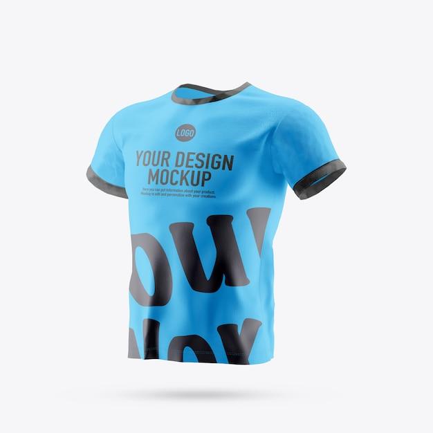 Изолированный макет футболки Premium Psd