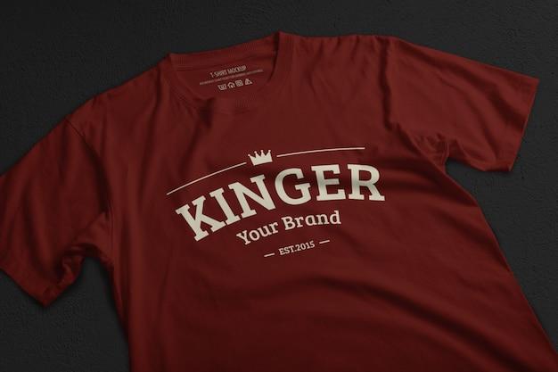티셔츠 이랑 템플릿 프리미엄 PSD 파일