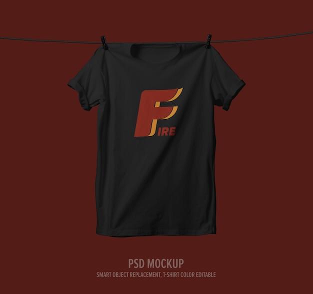 티셔츠 모형 프리미엄 PSD 파일