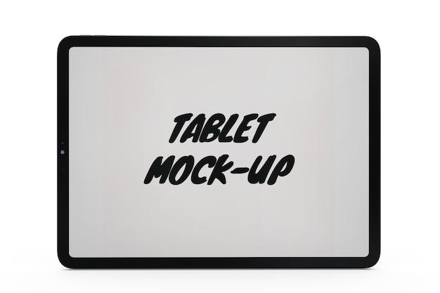 고립 된 태블릿 모형 무료 PSD 파일