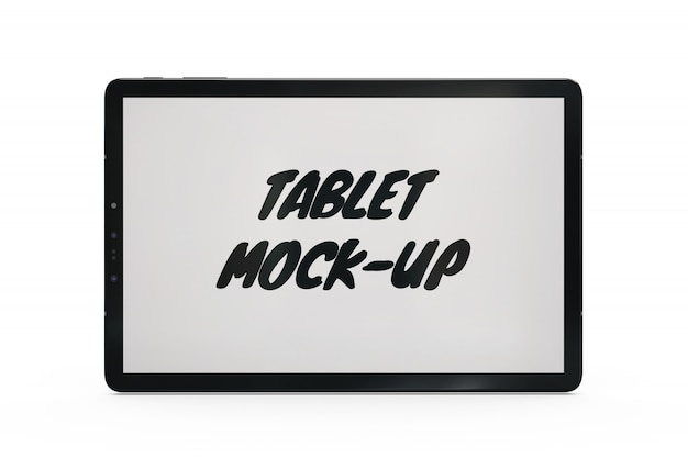 Tablet mock-up isolated Free Psd