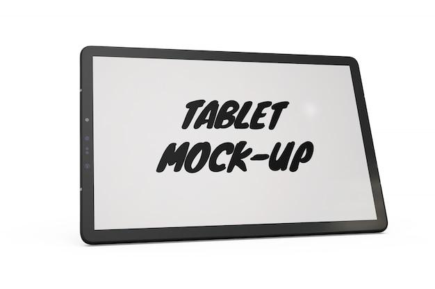 Изолированный макет планшета Бесплатные Psd