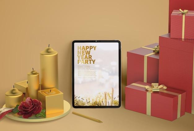 초 태블릿 모형 무료 PSD 파일