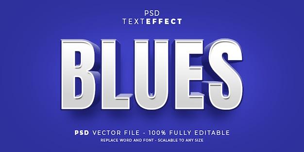Редактируемый шаблон стиля текста и шрифта Premium Psd