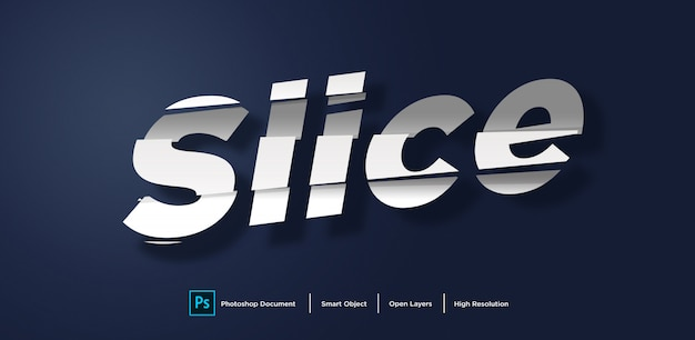 Text effect design Premium Psd