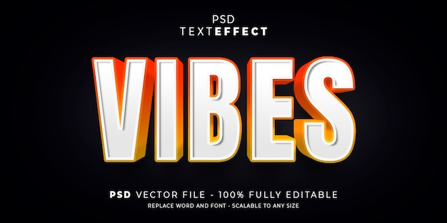 Text and font effect style editable template Premium Psd