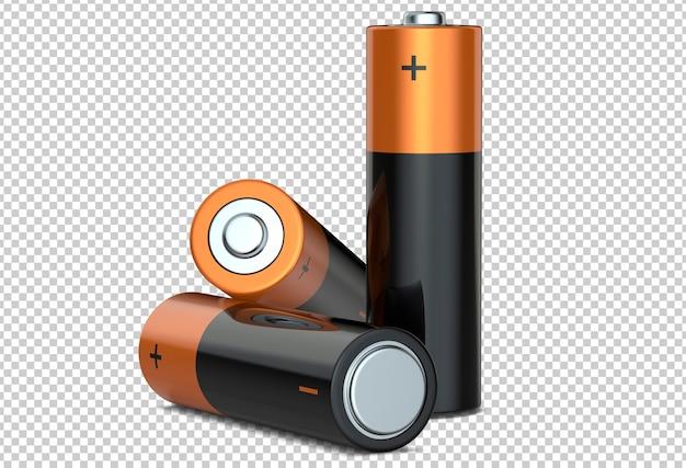 Три щелочные батареи aa Premium Psd