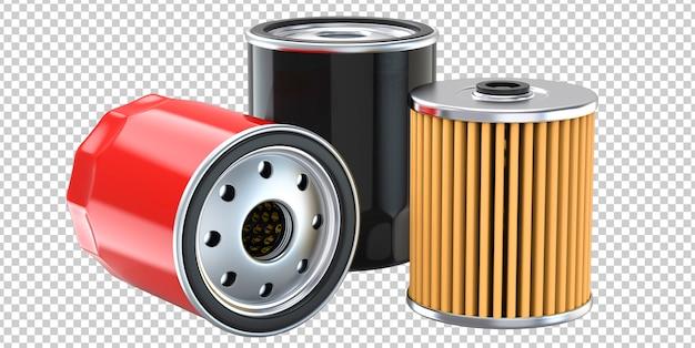 Три автомобильных масляных фильтра двигателя Premium Psd