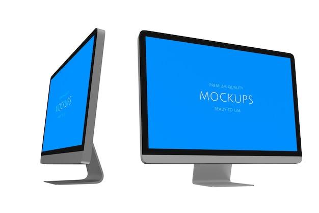 Трехмерное изображение компьютера Бесплатные Psd