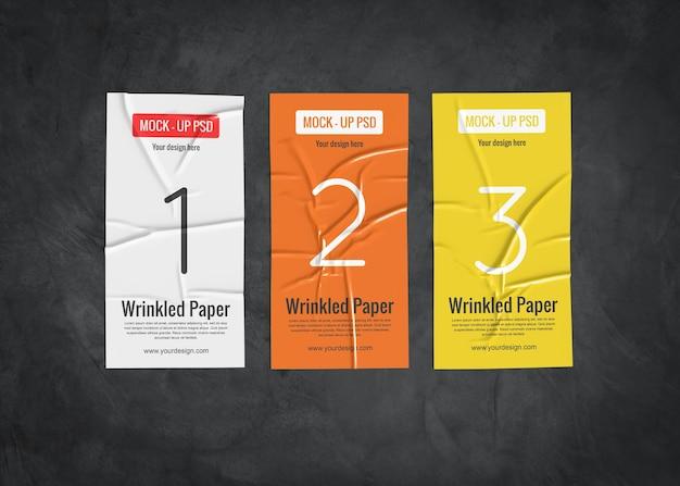 [Image: three-wrinkled-paper-mockup-dark-surface_35913-1794.jpg]