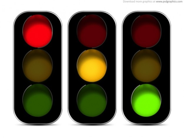 Traffic Lights Icon Psd Psd File Free Download