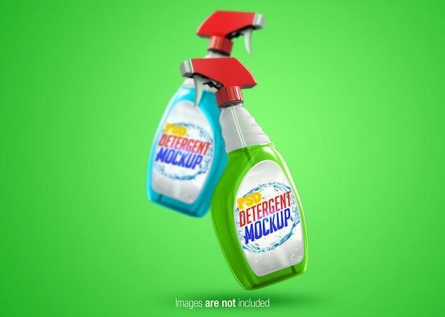 Transparent spray psd mock-up Premium Psd
