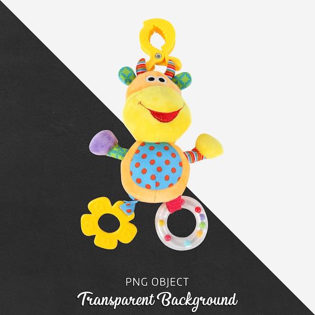 Transparent teether pelush toy Premium Psd
