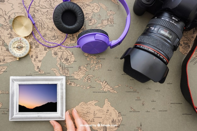 Travel elements Free Psd