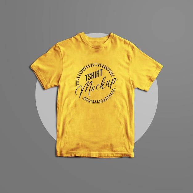 Tshirt mockup design isolated Premium Psd
