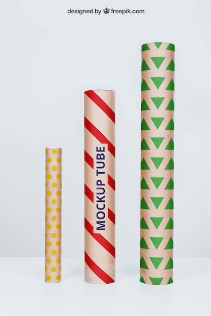 Tubes of different sizes Free Psd