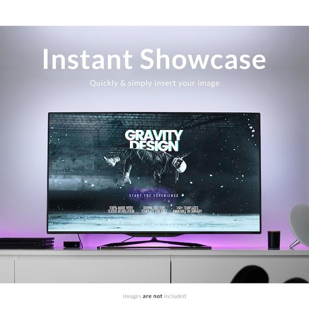Tv mock up Free Psd