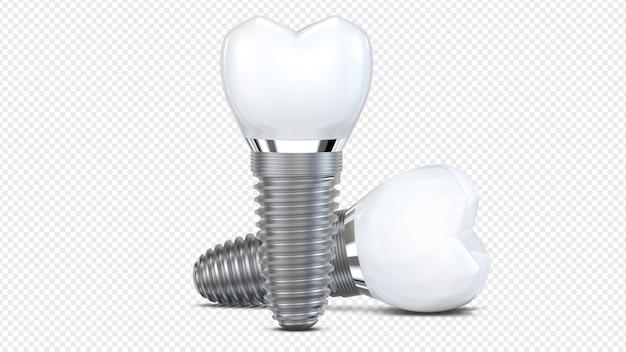 Два зубных имплантата Premium Psd