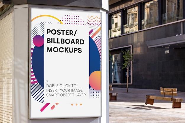 Mockup di cartellone urbano Psd Gratuite