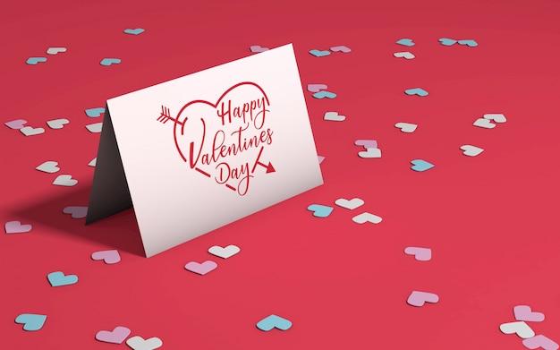 Valentine's day party mockup Free Psd
