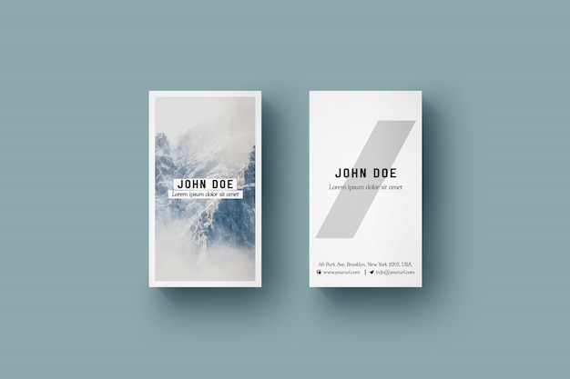 Vertical business card mock up psd file free download vertical business card mock up free psd reheart Image collections