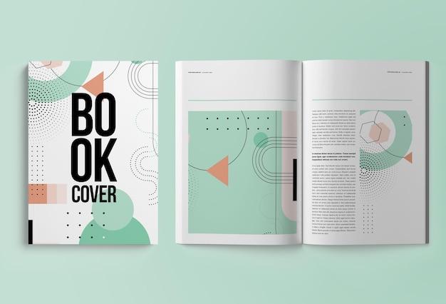 Вертикальный журнал или каталог а4, изолированный Premium Psd