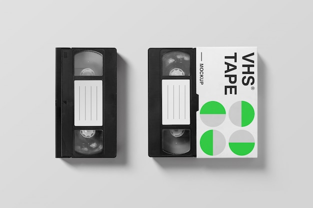 Vhs mockup collection Premium Psd