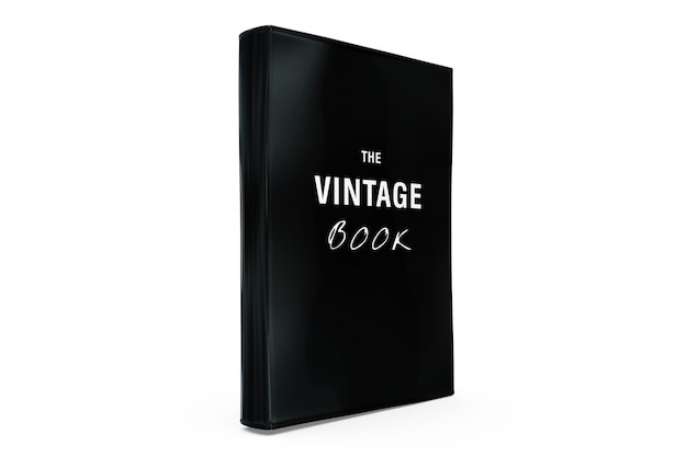 Vintage book mock-up Free Psd