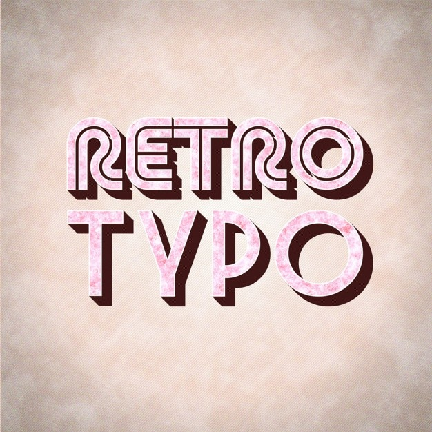 Showcase Of Beautiful Retro And Vintage Typography ...