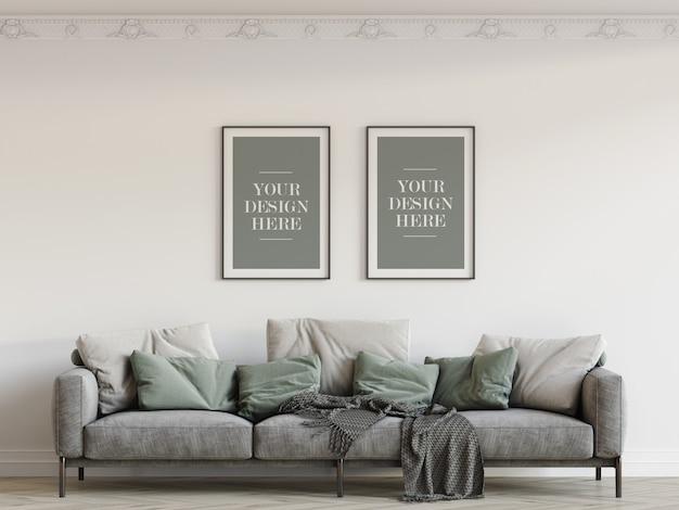 Wall frames mockup Premium Psd