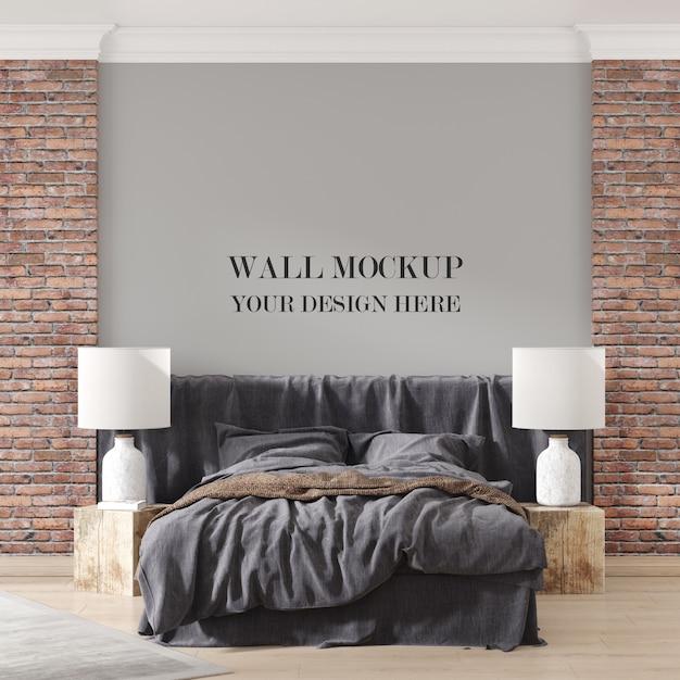벽 모형 프리미엄 PSD 파일