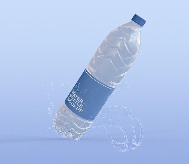 Мокап бутылки с водой Premium Psd