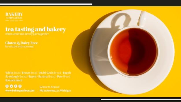 お茶ビジネスのwebテンプレート 無料 Psd