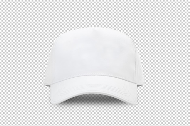 White baseball cap mockup template Premium Psd