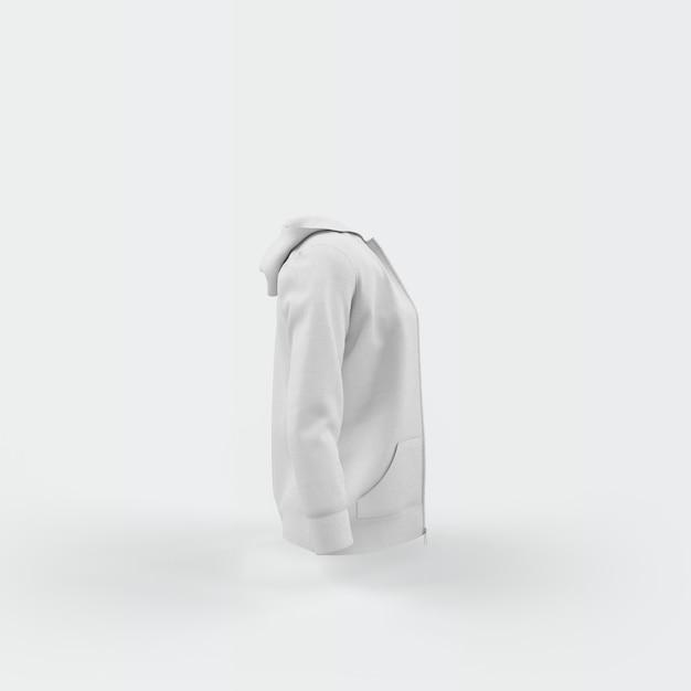 白に浮かぶ白いカーディガン 無料 Psd