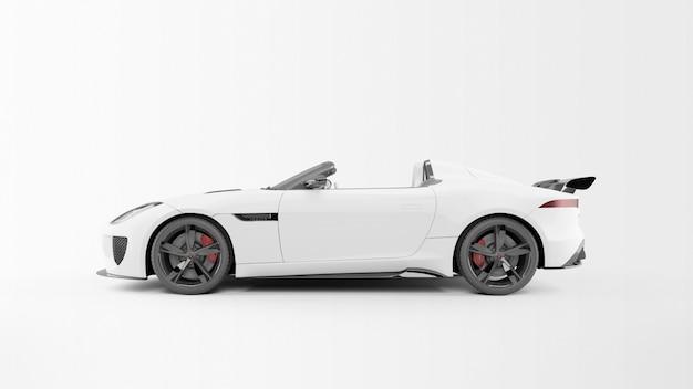 Auto sportiva bianca Psd Gratuite