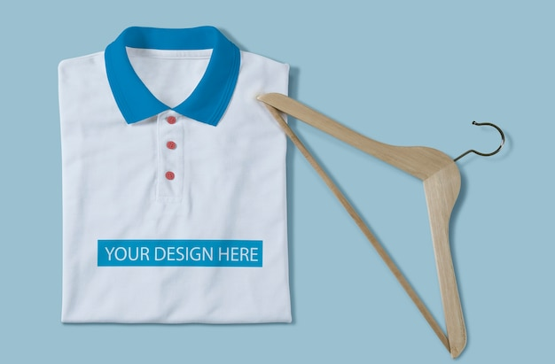 白いtシャツのモックアップデザイン Premium Psd