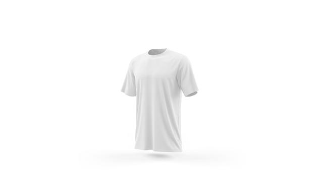 白いtシャツモックアップテンプレート分離、フロントビュー 無料 Psd
