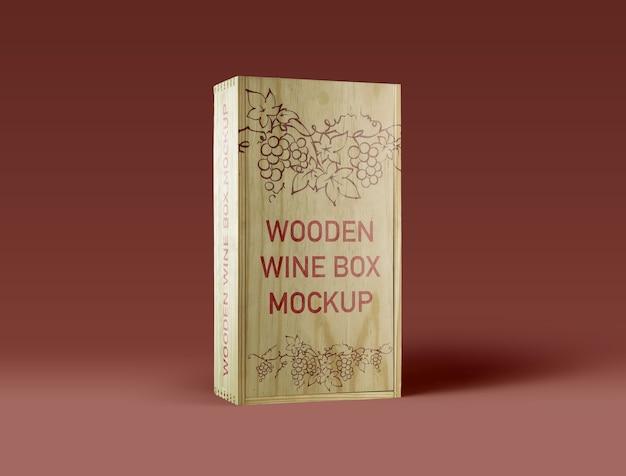 Wooden-wine-box-mockup