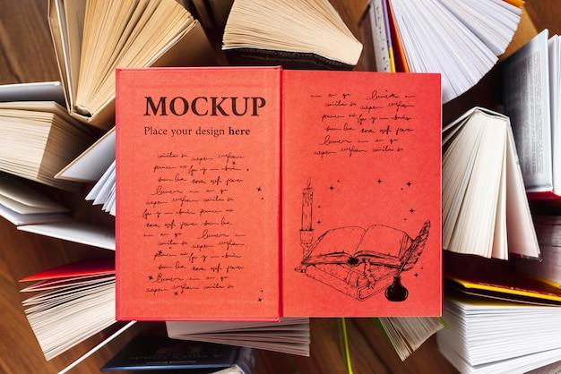 Макет концепции всемирного дня книги Бесплатные Psd