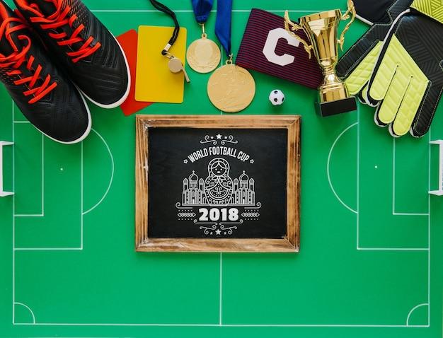 Кубок мира по футболу со сланцем Бесплатные Psd