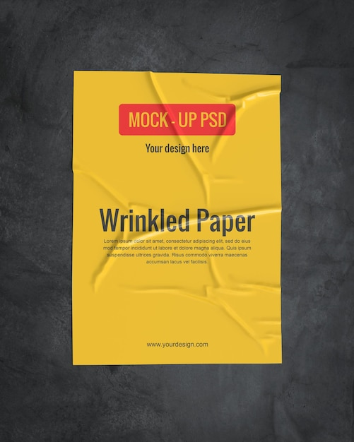 [Image: wrinkled-paper-mockup-dark-surface_35913-1793.jpg]